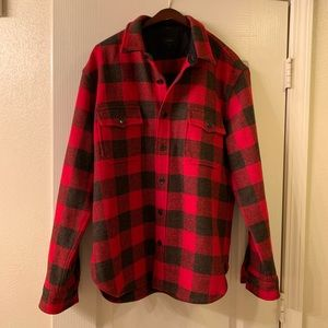 J. Crew flannel jacket
